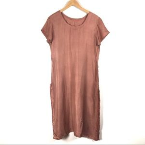 Tops - Dusty rose tunic or dress MEDIUM